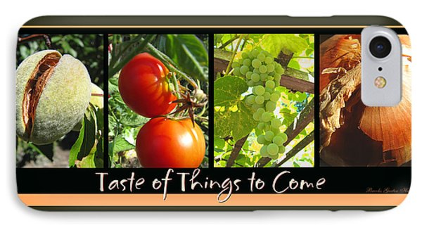 Taste Of Things To Come Photo Collage IPhone Case by Brooks Garten Hauschild