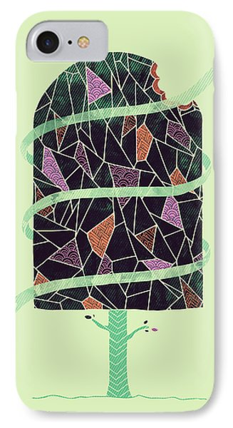 Tasty Tree IPhone Case by Hector Mansilla