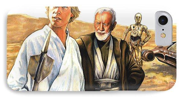 Tatooine Massacre IPhone Case