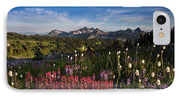 Tatoosh Mountain Range IPhone Case by Larry Marshall