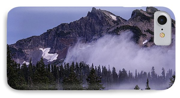 Tatoosh Range IPhone Case by Sharon Seaward