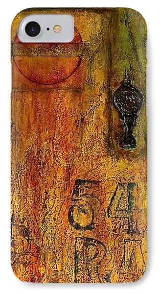 Tattered Wall  IPhone Case by Bellesouth Studio