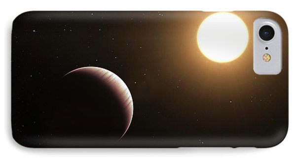 Tau Bootis B Exoplanet IPhone Case by L. Calcada/european Southern Observatory