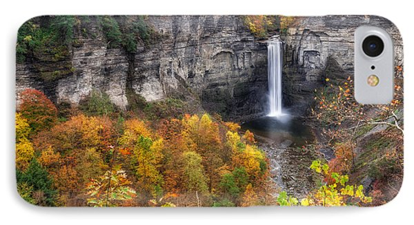 Taughannock Fall IPhone Case by Mark Papke