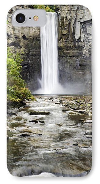 Taughannock Falls And Creek Phone Case by Christina Rollo