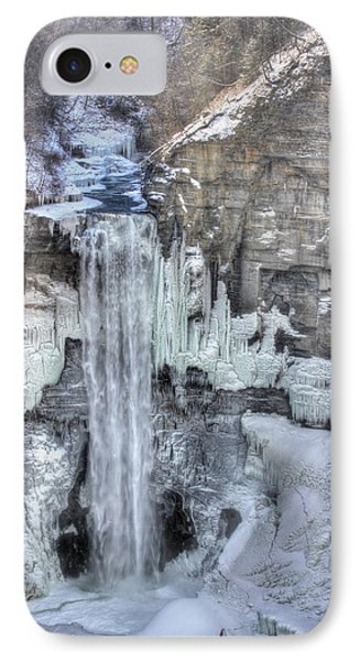 Taughannock Falls Phone Case by Lori Deiter