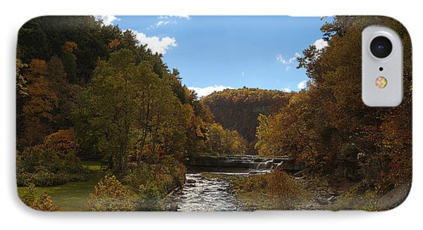 IPhone Case featuring the photograph Taughannock Lower Falls Ithaca New York by Paul Ge