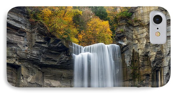 Taughannock Top IPhone Case by Mark Papke