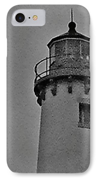 Tawas Point In The Rain IPhone Case by Daniel Thompson