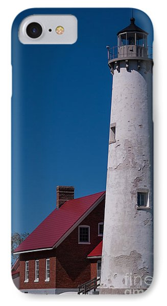 IPhone Case featuring the photograph Tawas Point Lighthouse by Patrick Shupert