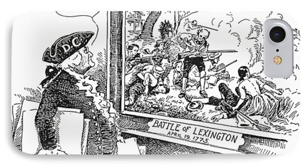 Taxation Cartoon, 1934 Phone Case by Granger