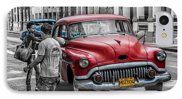 Taxi IPhone Case by Patrick Boening
