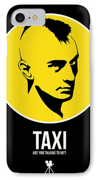 Taxi Poster 2 IPhone Case by Naxart Studio