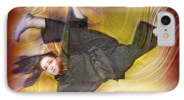 Taylor Lynch Action Portrait Phone Case by Salakot
