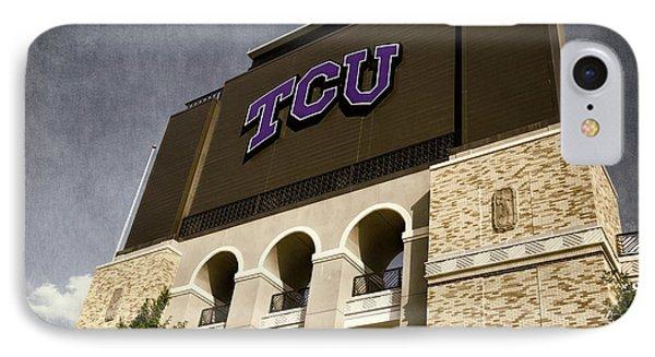 Tcu Stadium Entrance IPhone Case