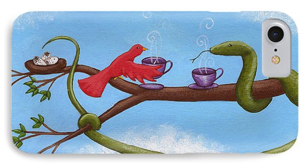 Tea And Eggs IPhone Case by Christy Beckwith