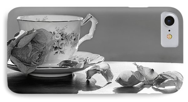 Tea And Roses Still Life Phone Case by Lisa Knechtel