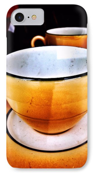 Tea For Two IPhone Case by Mark David Gerson