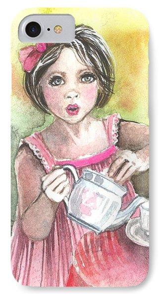 Tea Granny Phone Case by Kim Whitton