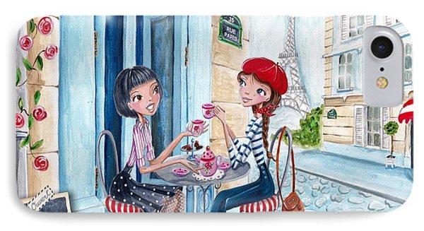 Tea In Paris IPhone Case