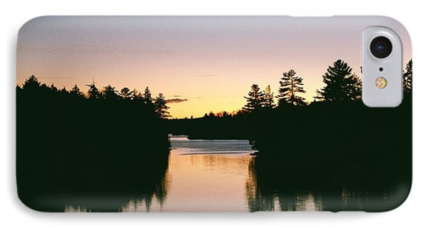 IPhone Case featuring the photograph Tea Lake Sunset by David Porteus