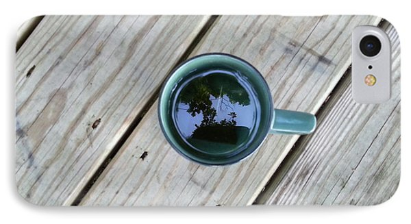 Tea Leaves IPhone Case by Lon Casler Bixby