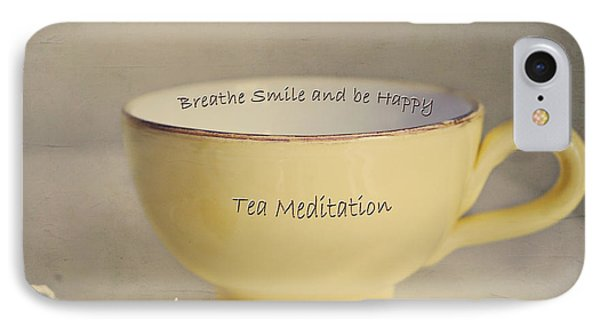 Tea Meditation IPhone Case by Irina Wardas