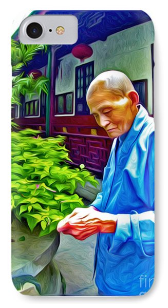 Tea Monk IPhone Case
