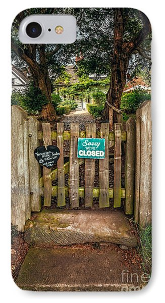 Tea Room Gate IPhone Case