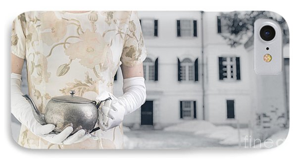 Tea Time IPhone Case by Edward Fielding