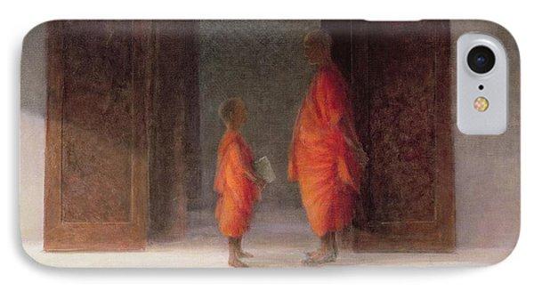 Teacher, 2005 Acrylic On Canvas IPhone Case