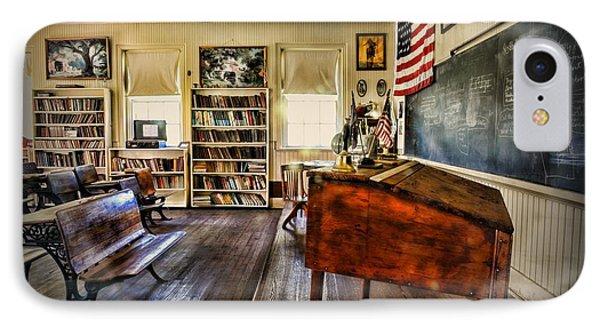 Teacher - One Room School IPhone Case by Paul Ward