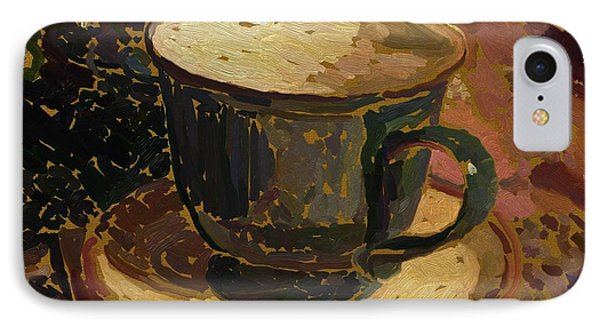Teacup Study 2 IPhone Case by Clyde Semler