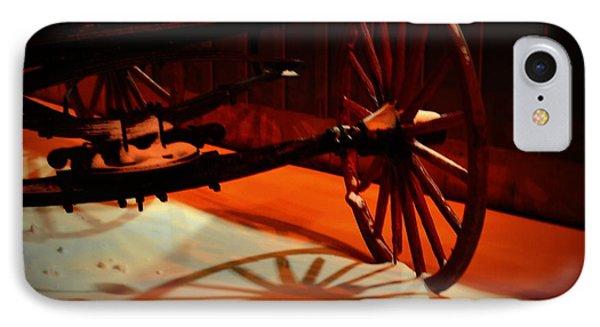 Teak Wagon 001 IPhone Case by Guy Hoffman