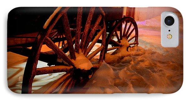 Teak Wagon 002 IPhone Case by Guy Hoffman