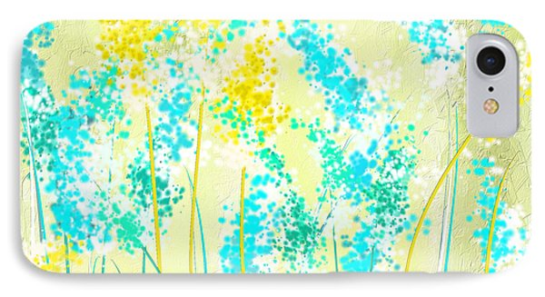Teal And Graces IPhone Case