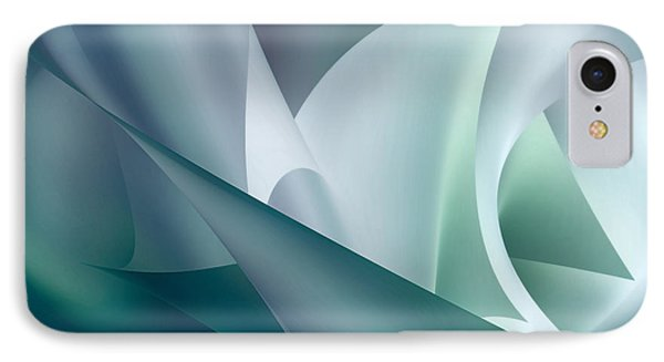 Teal Beam IPhone Case by Diane Dugas