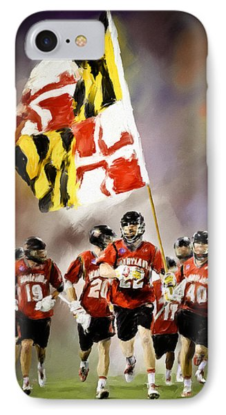 Team Maryland  Phone Case by Scott Melby