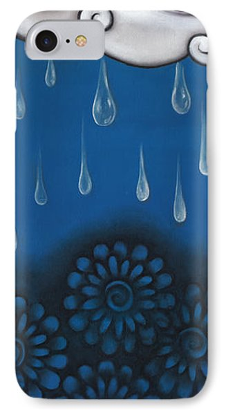 Tear Of A Cloud IPhone Case by  Abril Andrade Griffith