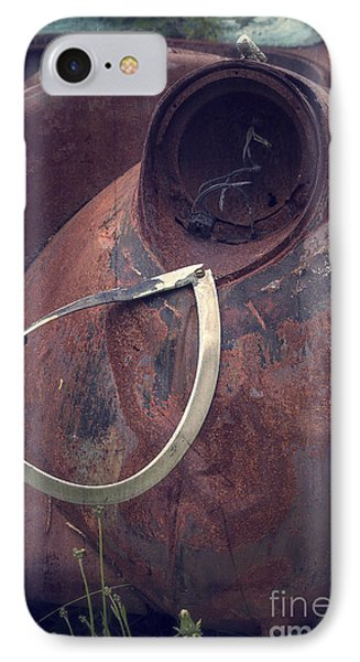 Teardrop At The End Of The Road Phone Case by Edward Fielding