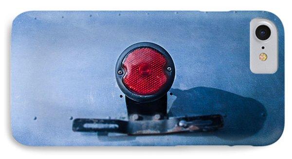 Teardrop Taillight IPhone Case by YoPedro