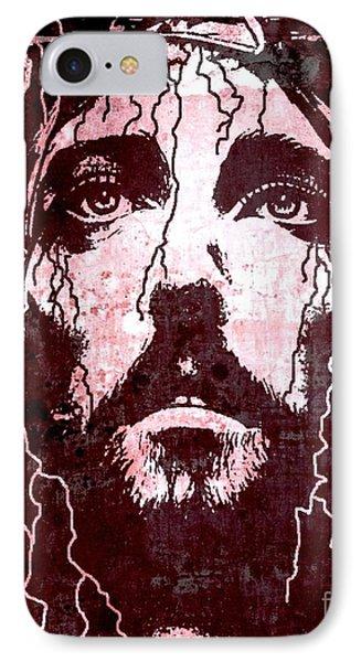 Tears Of Jesus Phone Case by Michael Grubb