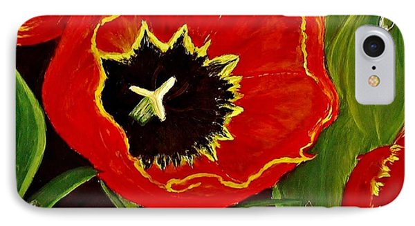 IPhone Case featuring the painting Tears Of Joy... by Cristina Mihailescu