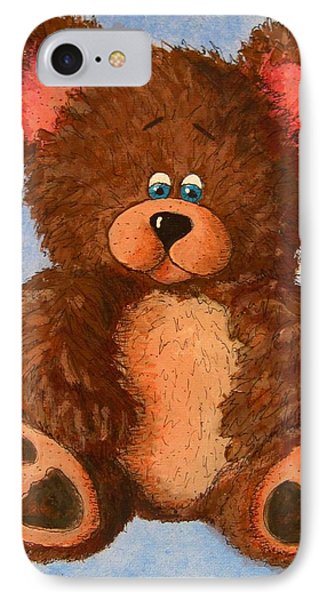 Ted IPhone Case by Megan Walsh