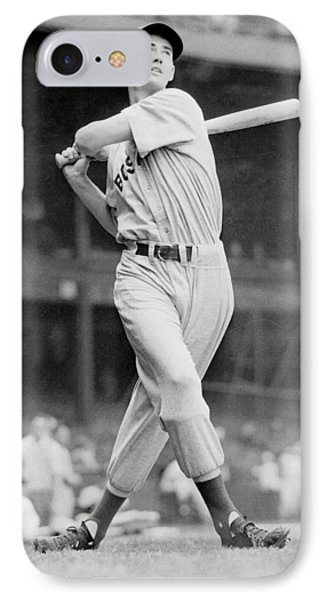 Ted Williams Swing IPhone Case by Gianfranco Weiss
