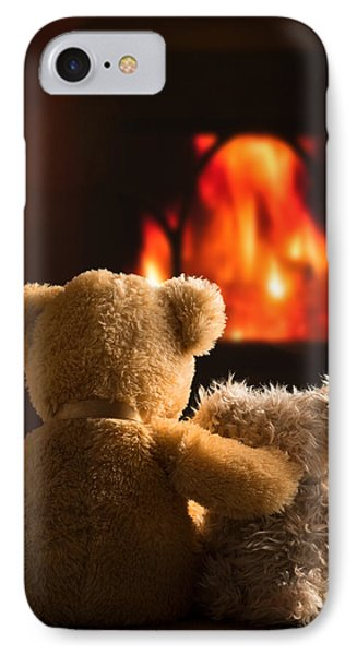 Teddies By The Fire IPhone Case