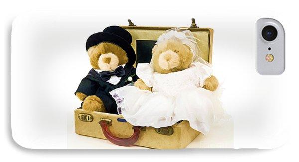 Teddy Bear Honeymoon Phone Case by Edward Fielding