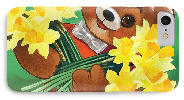 Teddy Bear Phone Case by William Francis Phillipps