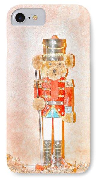 Teddy Nutcracker IPhone Case