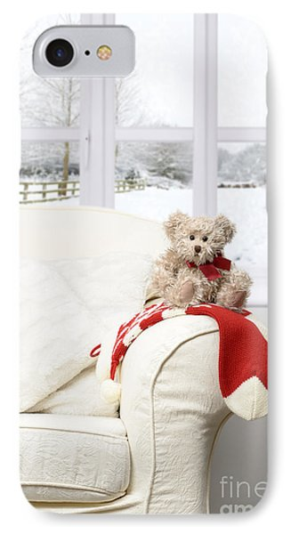 Teddy Sitting On Chair IPhone Case